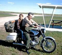 Robert Pirsig (b. 1928) and his son Chris (1956 - 1979)