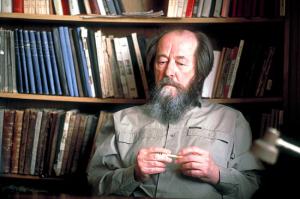 Aleksandr_Solzhenitsyn_Russian_USSR_Writer_Historian_Dissenter